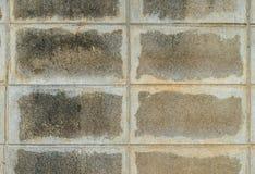 Betonblockwand Stockbilder