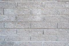 Betonblockwand als abstrakter Hintergrund Lizenzfreie Stockfotografie