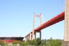 Betonbrücke Zarate Lizenzfreie Stockfotos