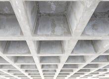 Betonconstructieplafond Royalty-vrije Stock Afbeelding
