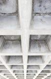 Betonconstructieplafond Royalty-vrije Stock Fotografie
