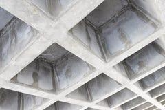 Betonconstructieplafond Stock Foto's