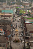 Betong clock tower, Yala, Thailand. Betong is a town (thesaban mueang) in southern Thailand, near the boundary to Malaysia. It is the capital of Betong district Royalty Free Stock Photos