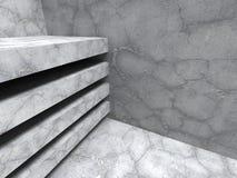 Betong knäckt bakgrund för stenabstrakt begrepparkitektur Royaltyfri Foto