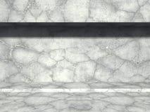 Betongvägg med solljus abstrakt arkitekturbakgrund stock illustrationer