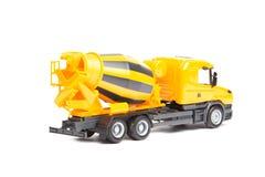 Betoniera del camion giallo Fotografia Stock Libera da Diritti