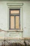 Betonmauer mit Fenster Lizenzfreies Stockbild