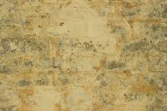 Betonmauer mit Ziegelsteinen Lizenzfreie Stockfotos