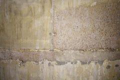 Betonmauer von der Blockhintergrundnahaufnahme Stockfotografie