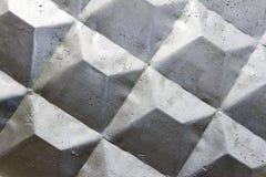 Betonmauer weiß gemalt Lizenzfreies Stockfoto