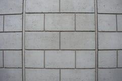 Betonmauerhintergrund in der grauen Farbe Stockfotos