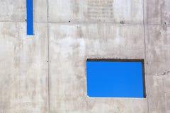 Betonowa ściana Fotografia Royalty Free