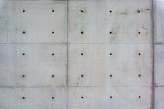 Betonowa ściana, beton, sichtbeton, różdżka, praca fotografia stock