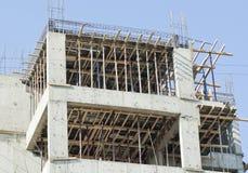 Betonowa budowa nowy budynek Fotografia Stock