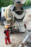 betonowa budowniczy budowa Obraz Stock