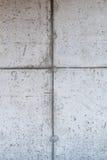 Betonowa ściana z formwork wzorem Fotografia Stock