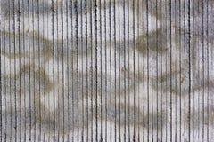 Betonowa ściana z punktami i lampasa wzorem Zdjęcia Royalty Free
