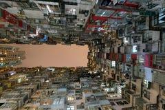 Betonowa dżungla łupu zatoka Hong Kong Zdjęcie Royalty Free