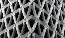 Betonowa fasada Londyński parking samochodowy Obraz Stock