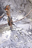 betonowa młoteczkowa dźwigarka Zdjęcia Royalty Free