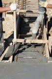 betonowa podsadzkowa fundacyjna mieszanka fotografia royalty free