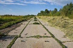 betonowa stara droga Zdjęcie Royalty Free