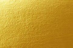 betonowa złota tekstura Zdjęcia Stock