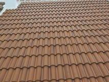 Betonowe dachowe płytki Zdjęcie Stock