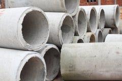 betonowe drymby Obrazy Stock