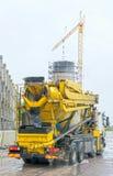 Betonowego melanżeru ciężarówka zdjęcie royalty free