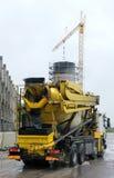 Betonowego melanżeru ciężarówka obraz stock