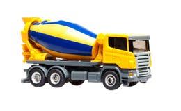 betonowego melanżeru zabawki ciężarówka obraz stock