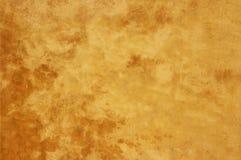 Betonowej ściany żółta tekstura zdjęcia royalty free