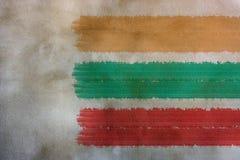 Betonowej ściany tło z farby muśnięciem Zdjęcie Royalty Free