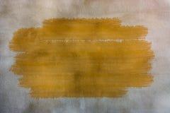 Betonowej ściany tło z farby muśnięciem Zdjęcie Stock
