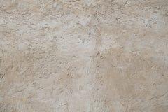 Betonowej ściany tekstura w bielu i beżu Zdjęcia Royalty Free