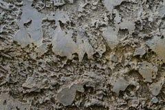 Betonowej tekstury Popielaty Żółty Horyzontalny Zdjęcie Royalty Free