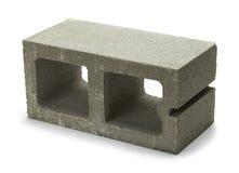 Betonowy żużlu blok Obrazy Stock