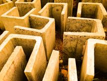 betonowy C patthern Fotografia Stock