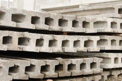 Betonowy palowanie Obrazy Royalty Free