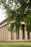 Betonowy pełny - sklejona replika Parthenon świątynia w Nashville Tennessee Obraz Royalty Free