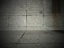 betonowy pokój Obrazy Royalty Free