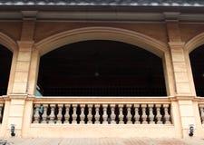 Betonowy poręcz Fotografia Stock
