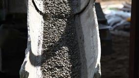 Betonowy spadać od melanżeru zbiory