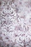 betonowy t?o tekstury adamaszek dekoracyjny tynk z ornamentami obrazy stock