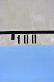 Betonplatte Stockbild