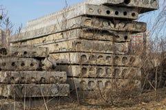 Betonplatten Lizenzfreie Stockfotos