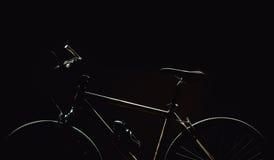 Betonte Formen eines Fahrrades Stockfoto
