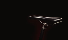 Betonte Formen eines Fahrrades Stockbild