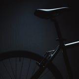 Betonte Formen eines Fahrrades Stockfotografie